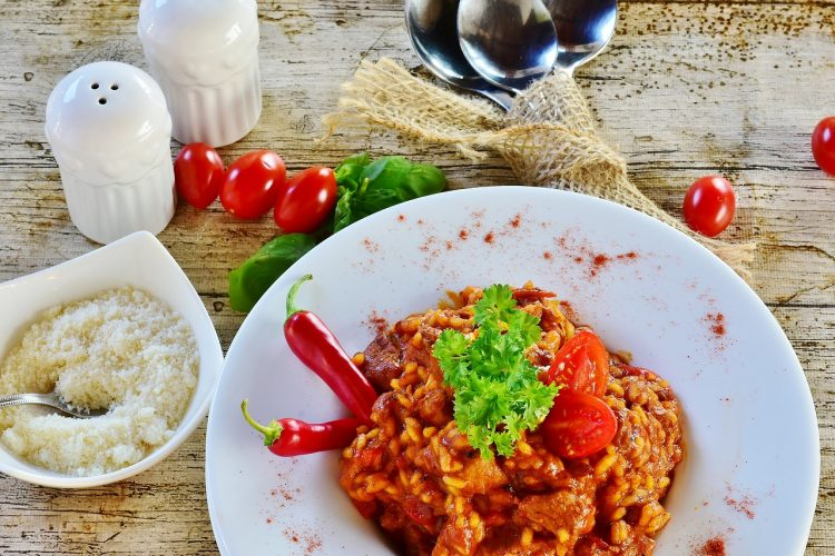 Recept Chili con carne met zoete aardappel en draadjesvlees.